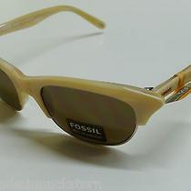 Fossil Sunglasses Ladies Glasses Ps7203111 Wyoming Cream 5590  Photo