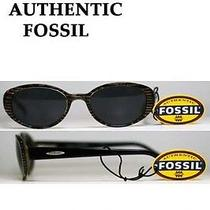 Fossil Sunglasses Ps2129brk Jungle Stripes/gray Lenses Flex-Hinged for Under 30 Photo