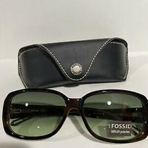 Fossil Sunglasses Rachelle /s 0rd9 Io Brown Polarized Free Shipping Photo