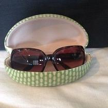 Fossil Sunglasses W/ Cute Case Photo