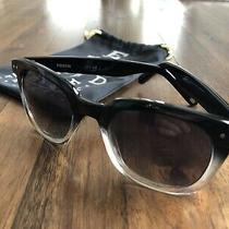 Fossil Sunglasses Womens Black to Clear Ombre. New W/out Tags. Photo