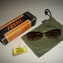 Fossil Sunshades Sun Glasses Copper With Spring Hinges (57-17-140) Photo