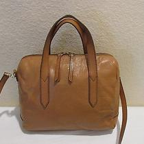 Fossil Sydney Satchel Shoulder Bag Purse Zb5486 Photo