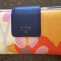 Fossil Sydney Wallet Floral Photo