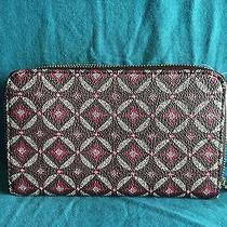 Fossil Sydney Zip Phone Wallet Nwt Purple Fits Iphone 6 Photo