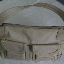Fossil Tan Leather Hobo Shoulder Handbag Organizer Purse W Key Photo