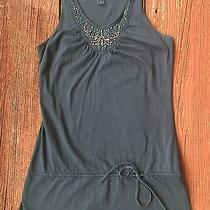Fossil Tank Top Shirt Beading Detail Sz S Small  Photo