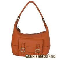Fossil Tate Small Hobo Shoulder Bag Light Orange Purse 148 New Photo