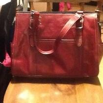 Fossil Tote/laptop Bag Red Photo