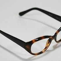 Fossil Tracy Plastic Tortoise Shell Flex-Hinged Rx Eyeglass Sunglass Frame Photo