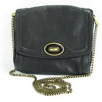 Fossil Turnlock Clutch Black 80 Photo