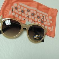 Fossil Unisex Sun Glasses Fw 99 Retro Clear Taupe/torte Shell Arms Nwt Photo