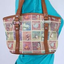Fossil Very Small Leather Shoulder Hobo Tote Satchel Purse Hand Bag Photo