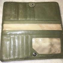 Fossil Vintage 1954 Leather Green Wallet Sl8438 Photo