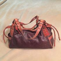 Fossil Vintage Brown Leather Bag Photo
