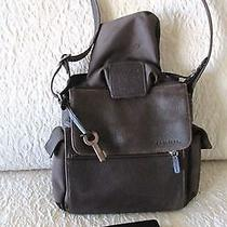 Fossil  Vintage Handbag  Leather Crossbody Photo