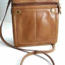 Fossil Vintage Leather Organizer Crossbody Bag Photo