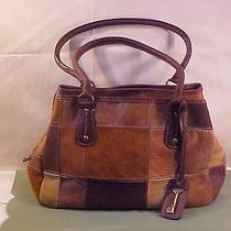 Fossil Vintage Leather Patchwork Purse 1954 Collection - Euc/ships Free Photo