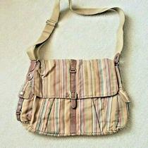 Fossil Vintage Messenger Bag Brown Boho-Chic Style Free Shipping Photo