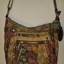 Fossil Vintage Print Crossbody Purse  Photo