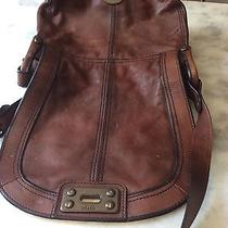 Fossil Vintage Revival Flap Crossbody With Lock Super Cute Photo