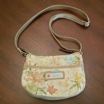 Fossil Vintage Small Multicolored Canvas Crossbody Bag Purse Photo