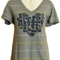 Fossil Vtg Camera Heart Photography Tee Shirt Love Film Photographer Size Large  Photo