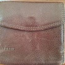 Fossil Wallet Brown Photo