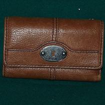 Fossil Wallet - Brown Leather Photo