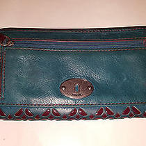 Fossil Wallet Color Pine Green Photo
