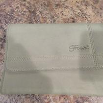 Fossil Wallet Green Photo