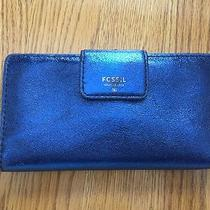 Fossil Wallet Navy Blue  Photo