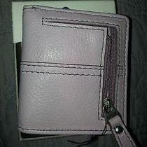 Fossil Wallet. Nwt Lavender or Metallic Gold Photo