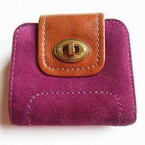 Fossil Wallet Purple Photo