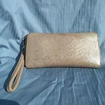 Fossil Wallet Purse Cowhide Leather Ziparound Clutch Wristlet Organizer Genuine  Photo