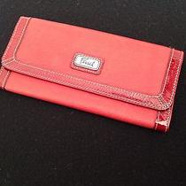 Fossil Wallet - Red Photo