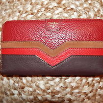 Fossil Wallet   Red/brown   Euc  Photo