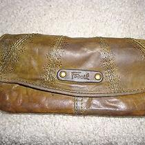 Fossil Wallet Vintage Photo