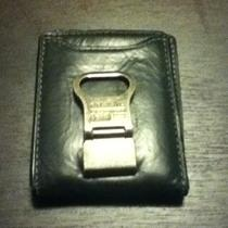 Fossil Wallet W/ Money Clip and Bottle Opener Photo