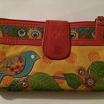 Fossil Wallet With Bird Design Photo