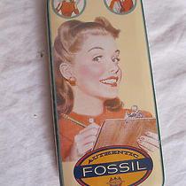 Fossil Watch Tin/box Photo