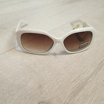 Fossil White Sunglasses Womens Ws 5043 100 Photo