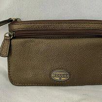 Fossil Womans Clutch Wallet Zip Organizer Pouch 7