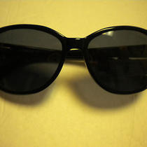 Fossil Womans Sun Glasses Kathleen 2 Black  Nwt Photo