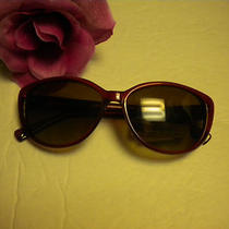 Fossil Womans Sun Glasses Kathleen 2 P Red  Nwt Photo