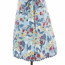 Fossil Women Blue Casual Skirt 2 Photo