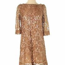 Fossil Women Brown Cocktail Dress Xs Photo