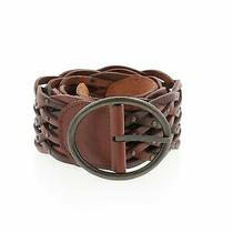 Fossil Women Brown Leather Belt L Photo