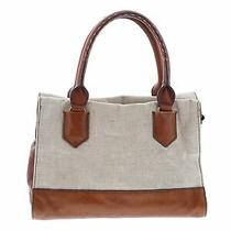 Fossil Women Brown Leather Satchel One Size Photo
