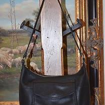 Fossil Women's Black Leather Shoulder Hand Bag - Beautiful Condition Photo